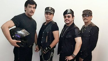 Hagibis is a disco band from the Philippines going since 1979.