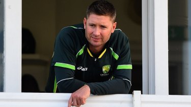 Michael Clarke was criticised for his endorsements of GlobalTech via Twitter.