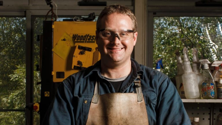Mark Toogood developed a program at Tharwa Valley Forge to help other veterans.