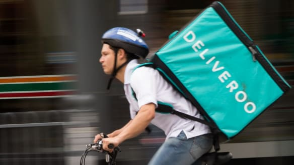 Uber in early talks to buy Deliveroo: sources