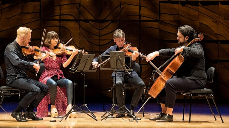 The Australian String Quartet was particularly impressive in the Schubert and James Ledger works.