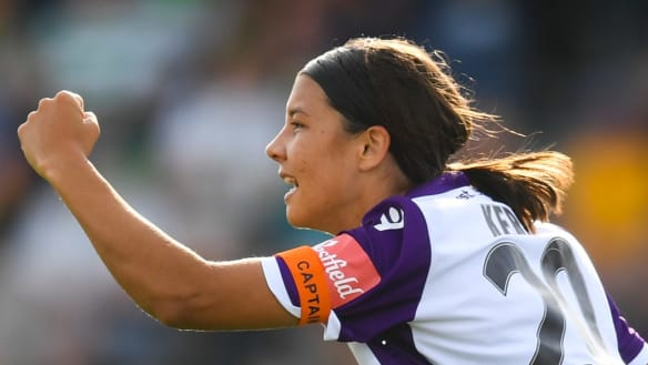 Sam Kerr nominated for Asia player of year