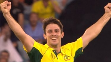 Mitch Marsh will join the team for the match against Pakistan.