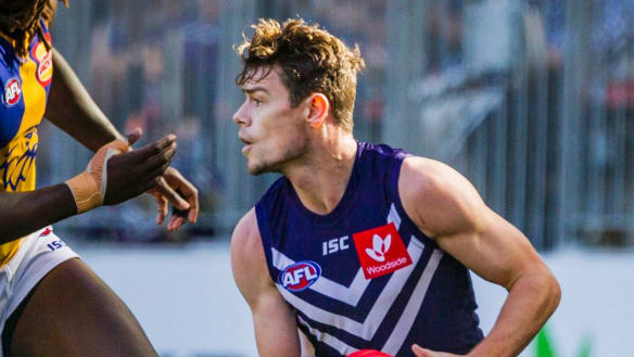 Lachie Neale says he and Ross Lyon are on good terms