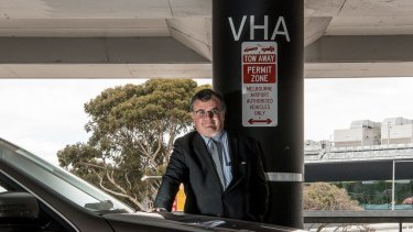 Hire car driver Tony Sheridan has taken on Melbourne Airport over parking fines - and won.