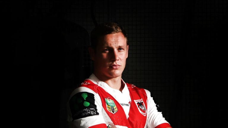 Victim of his own success: Dragons utility Kurt Mann is keen to prove himself a permanent half.