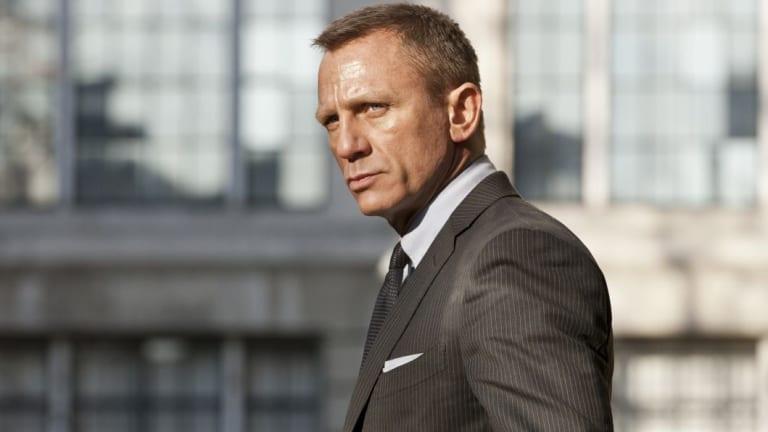 Daniel Craig as James Bond in Skyfall.