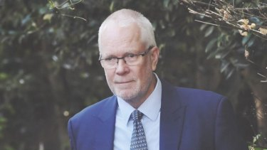 Good fortune: Justin Milne once worked with Malcolm Turnbull.
