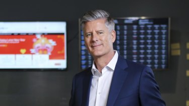 IDP Education boss Andrew Barkla has presided over a rapid rise in the company's share price this year.