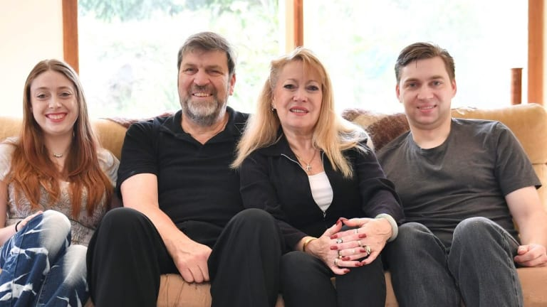 Meralyn Klein, second from right, during the 2016 Nillumbik Council elections.