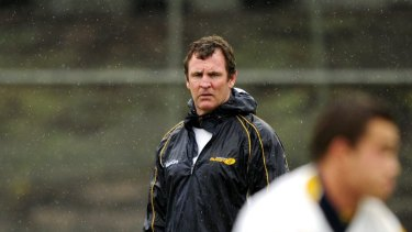New gig: dual international and former national sevens coach Michael O'Connor has been named as a Wallabies selector.