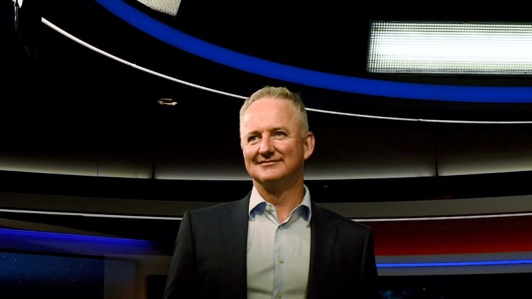 Nine Entertainment chief executive Hugh Marks is months away from a planned merger with Fairfax Media.