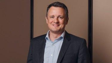 Telstra executive Michael Ackland.