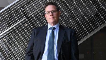 Industry Super Australia's Bernie Dean.