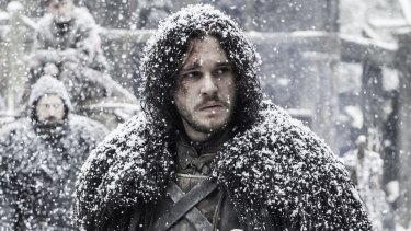 Kit Harington as Jon Snow in Game of Thrones.