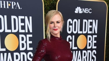 Nicole Kidman has missed out on a golden globe.