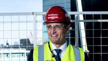 Outgoing Lendlease European head Dan Labbad.