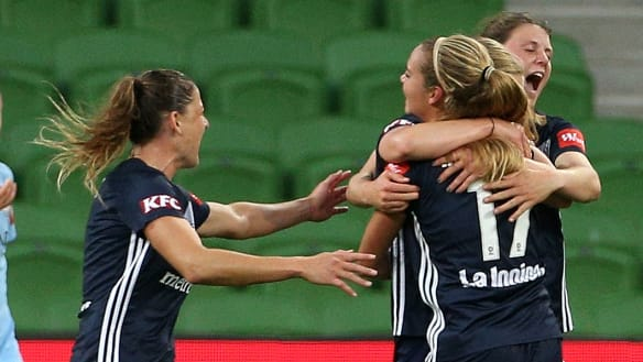 Victory get one on City in historic Melbourne derby