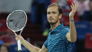 Daniil Medvedev is through to his ninth final of the season.