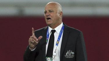 Socceroos boss Graham Arnold.