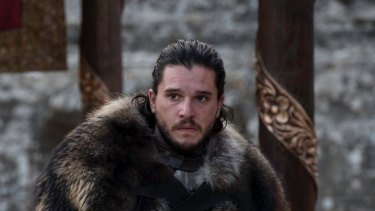 Jon Snow ... the seventh season of Game of Thrones was illegally downloaded or streamed more than a billion times.
