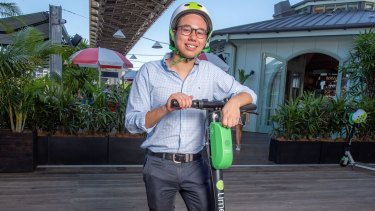 """Lime's public affairs manager Nelson Savanh said Lime scooters accepted the RNA ban and would build """"geo-fences"""" around the RNA site for 10 days."""