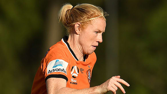 Looking to the future: Clare Polkinghorne.