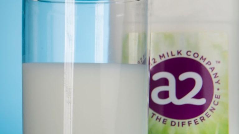 A2 Milk Post Record Profit
