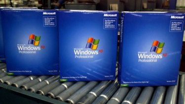 Over and out: Microsoft will stop supporting the popular Windows XP on April 8.