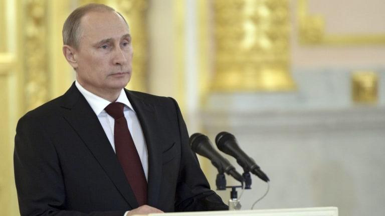 No soul? Russian President Vladimir Putin