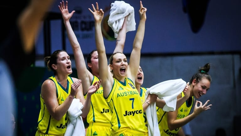 Women's basketball is popular in Australia.