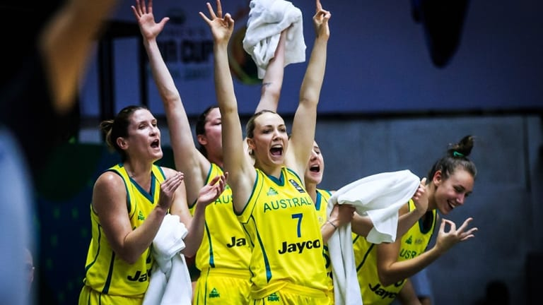 The Opals have a tough draw for September's World Cup.