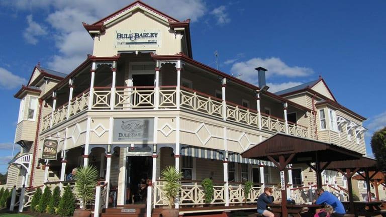 Bull & Barley Inn.