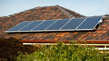 Paired with an off-grid battery, solar panels can provide 'round-the-clock power.