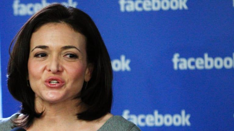 Facebook chief operating officer Sheryl Sandberg uses data-based methods to expose bias.