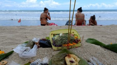 """A culture on a suicide mission subsidised by affluent hedonists, seeking peace, tranquillity and harmony"": Bali."