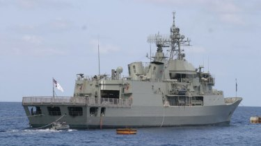 """HMAS Ballarat (aka The Ship of Shame) where hazing  involved """"being sexually assaulted with water bottles, carrots, bananas, pens and pencils""""."""