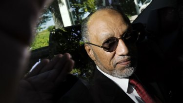 So many questions: Mohamed Bin Hammam arrives at FIFA headquarters this week.