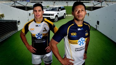 UC's logo will appear on the back of the Brumbies' jersey in 2017 after the shirt-front sponsorship deal ended last year.
