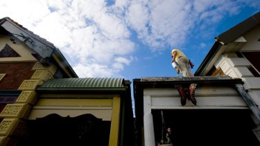 Sydney is facing a housing shortage, despite relatively high levels of construction.