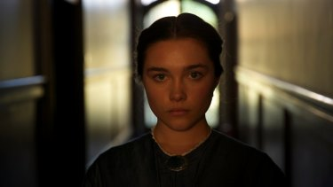 Florence Pugh delivers a precise balance of naivete and self-possession as Katherine in Lady Macbeth.