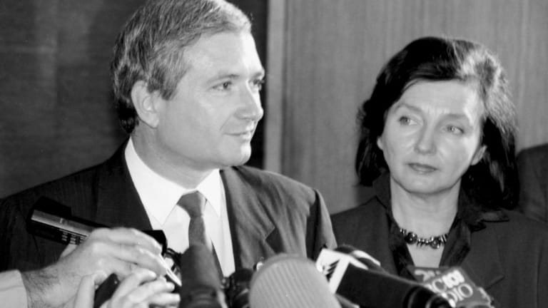 """NSW Premier Nick Greiner petitioned for an institution that would """"fearlessly and honestly"""" investigate government corruption."""