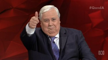 Clive Palmer – is his time as an MP running out?
