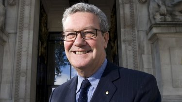 Alexander Downer says the UK's obligations to the EU has negatively impacted Australians.