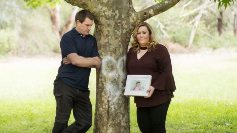 Kirsty and Aaron McConnell  did not know they were carriers of a genetic disorder until their daughter Lily was born with it.