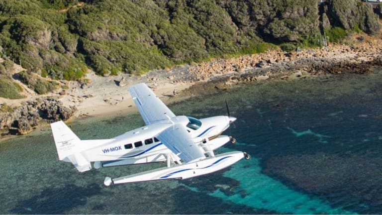Swan River Seaplanes will charter day trips from Perth to Margaret River.
