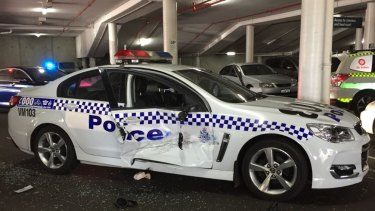 Police officer in hospital after wild chase through Perth's