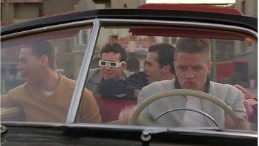 Tom Wilson as the bully Biff Tannen.
