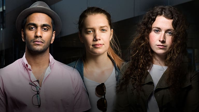 Nathan Subaness, Kiara Robinson and Ashleigh Mounser were underpaid by a range of fast-food, cafes and restaurants in Wollongong.
