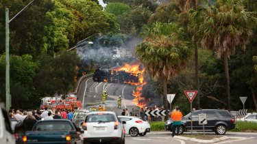 Fatal truck accidents have increased since the horror tanker crash on Mona Vale Road, in Sydney, in 2013.